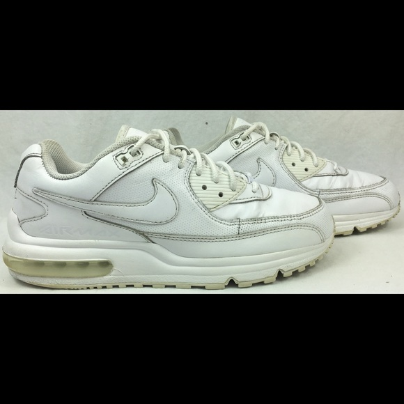Nike Air Max Wright All White Men's Running Shoes